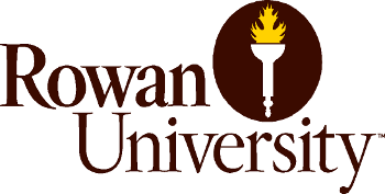 Logo of Rowan University, New Jersey, USA.
